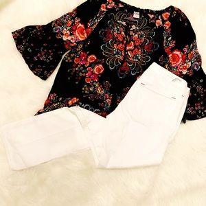 Women's Earnest Sewn White Bootcut Jeans